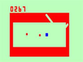 Title screen of Dodge It on the Fairchild Channel F.
