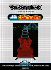 Box cover for 3D Crazy Coaster on the GCE Vectrex.