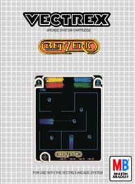 Box cover for Berzerk (Debugged Prototype) on the GCE Vectrex.