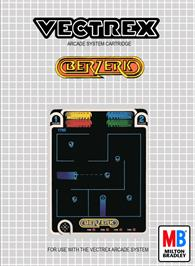 Box cover for Berzerk on the GCE Vectrex.