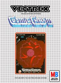 Box cover for Cosmic Chasm on the GCE Vectrex.