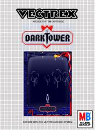 Box cover for Dark Tower (Prototype) on the GCE Vectrex.