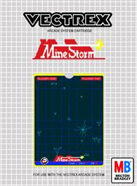 Box cover for Mine Storm on the GCE Vectrex.