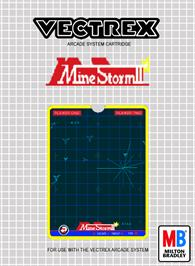 Box cover for Mine Storm II on the GCE Vectrex.