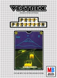 Box cover for Pole Position on the GCE Vectrex.