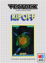 Box cover for Rip-Off on the GCE Vectrex.
