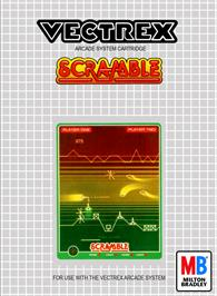 Box cover for Scramble on the GCE Vectrex.