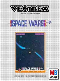 Box cover for Space Wars on the GCE Vectrex.