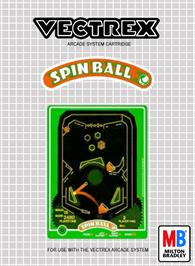 Box cover for Spin Ball on the GCE Vectrex.