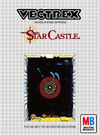 Box cover for Star Castle on the GCE Vectrex.