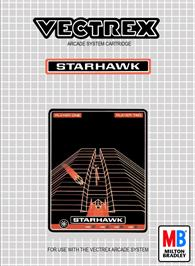 Box cover for Starhawk on the GCE Vectrex.