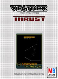 Box cover for Thrust on the GCE Vectrex.