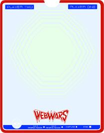 Overlay for Web Wars on the GCE Vectrex.