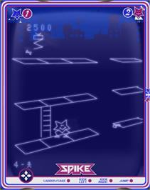 In game image of Spike on the GCE Vectrex.