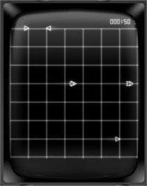 In game image of Vecmania: Part 2 on the GCE Vectrex.