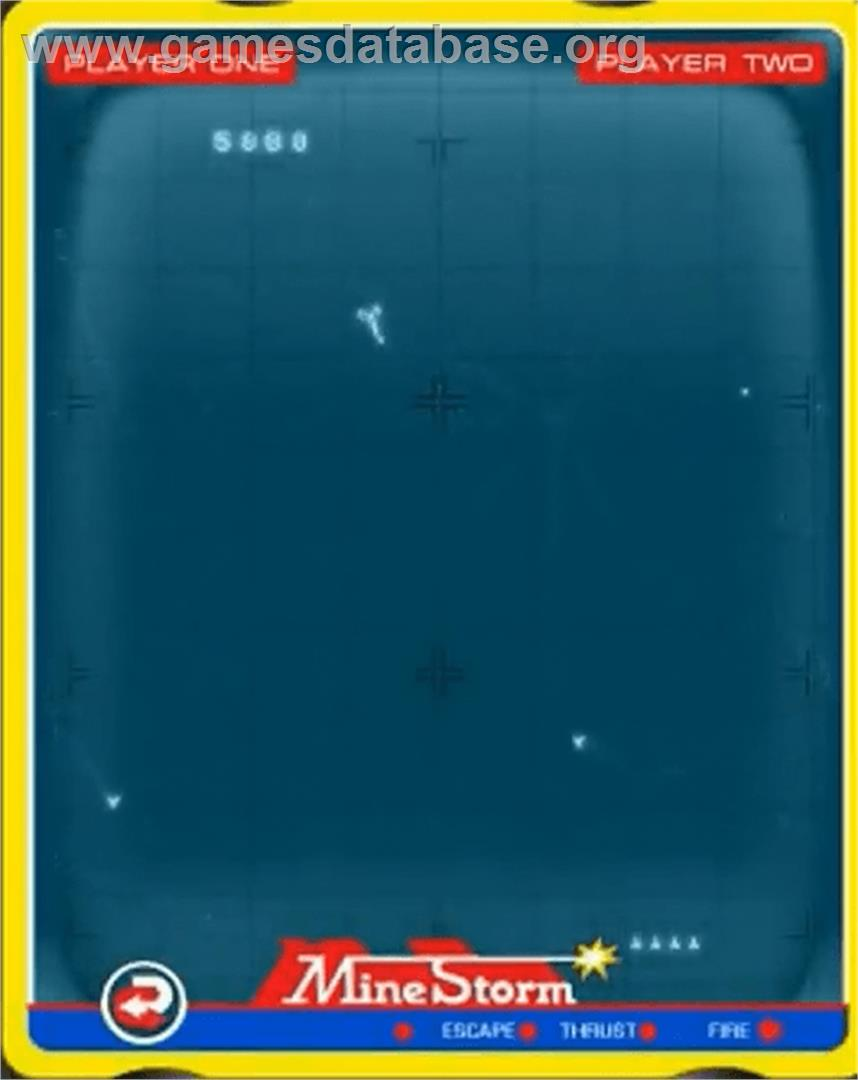 Mine Storm II - GCE Vectrex - Artwork - In Game