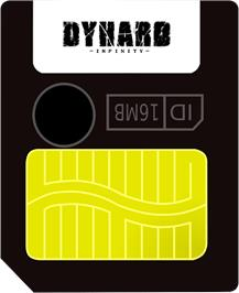 Cartridge artwork for Dyhard - With Infinite Stairs on the Gamepark GP32.