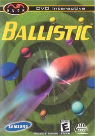 Box cover for Ballistic on the Genesis Microchip Nuon.