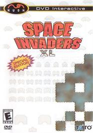 Box cover for Space Invaders XL on the Genesis Microchip Nuon.