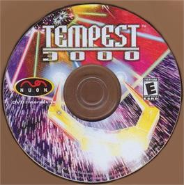 Artwork on the CD for Tempest 3000 on the Genesis Microchip Nuon.