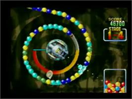In game image of Ballistic on the Genesis Microchip Nuon.