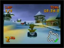 In game image of Merlin Racing on the Genesis Microchip Nuon.