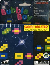 Box cover for Bubble Boy on the Hartung Game Master.
