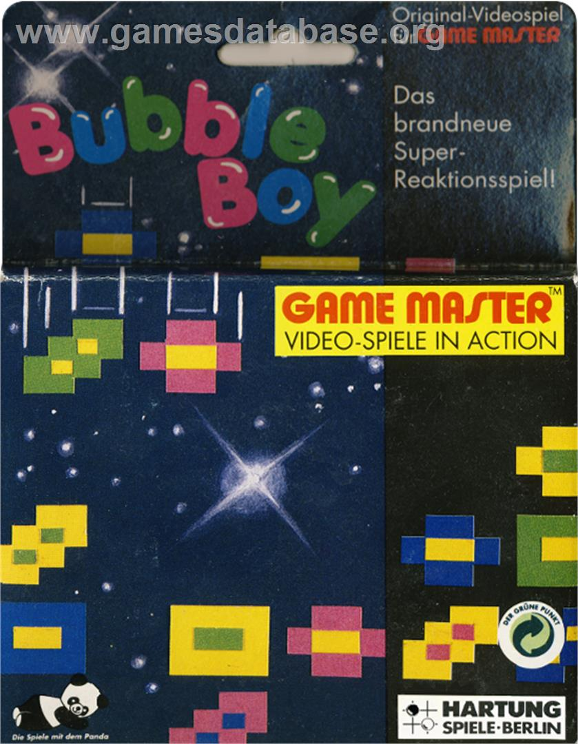 Bubble Boy - Hartung Game Master - Artwork - Box