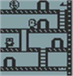 In game image of Dungeon Adventure on the Hartung Game Master.