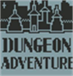 Title screen of Dungeon Adventure on the Hartung Game Master.