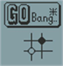 Title screen of Go Bang on the Hartung Game Master.