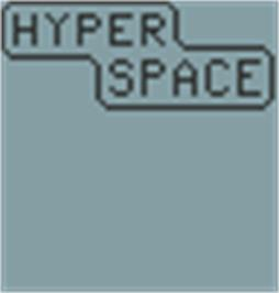 Title screen of Hyper Space on the Hartung Game Master.
