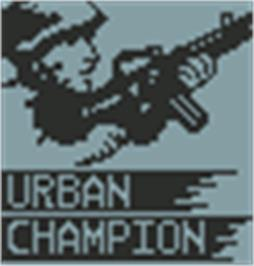 Title screen of Urban Champion on the Hartung Game Master.