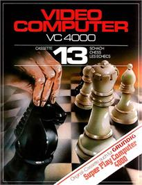 Box cover for Chess on the Interton VC 4000.