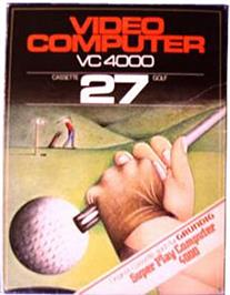 Box cover for Golf on the Interton VC 4000.