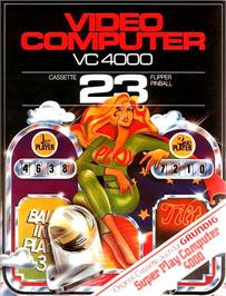 Box cover for Pinball on the Interton VC 4000.