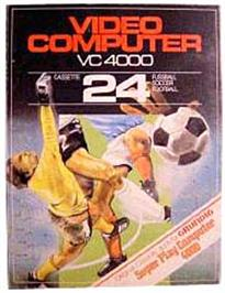 Box cover for Soccer on the Interton VC 4000.