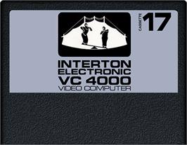 Cartridge artwork for Circus on the Interton VC 4000.