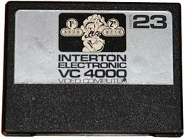Cartridge artwork for Pinball on the Interton VC 4000.
