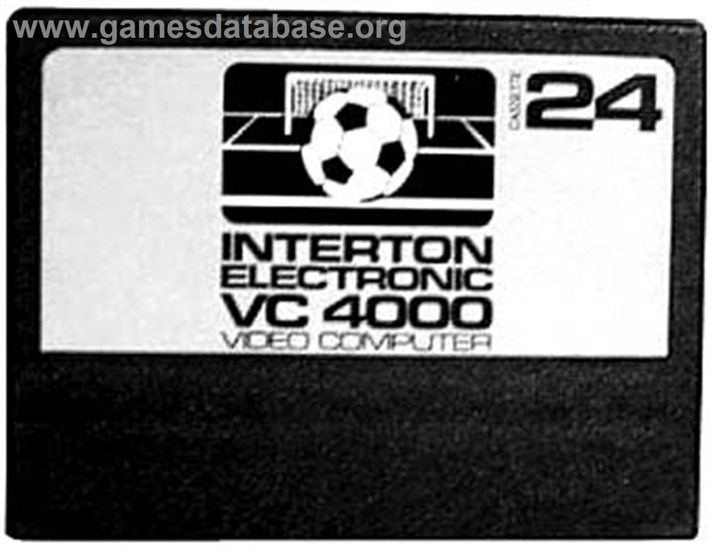Soccer - Interton VC 4000 - Artwork - Cartridge