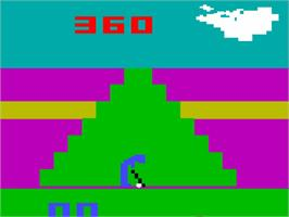 In game image of Golf on the Interton VC 4000.