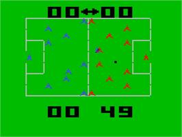 In game image of Soccer on the Interton VC 4000.