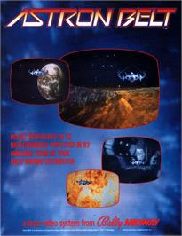 Advert for Astron Belt on the Laserdisc.