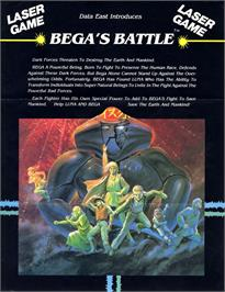 Advert for Bega's Battle on the Laserdisc.