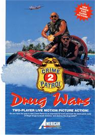 Advert for Crime Patrol 2: Drug Wars on the Laserdisc.