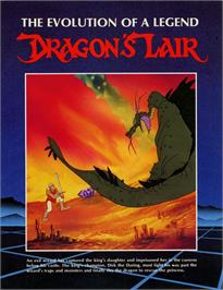 Advert for Dragon's Lair on the Laserdisc.