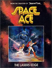 Advert for Space Ace on the Laserdisc.