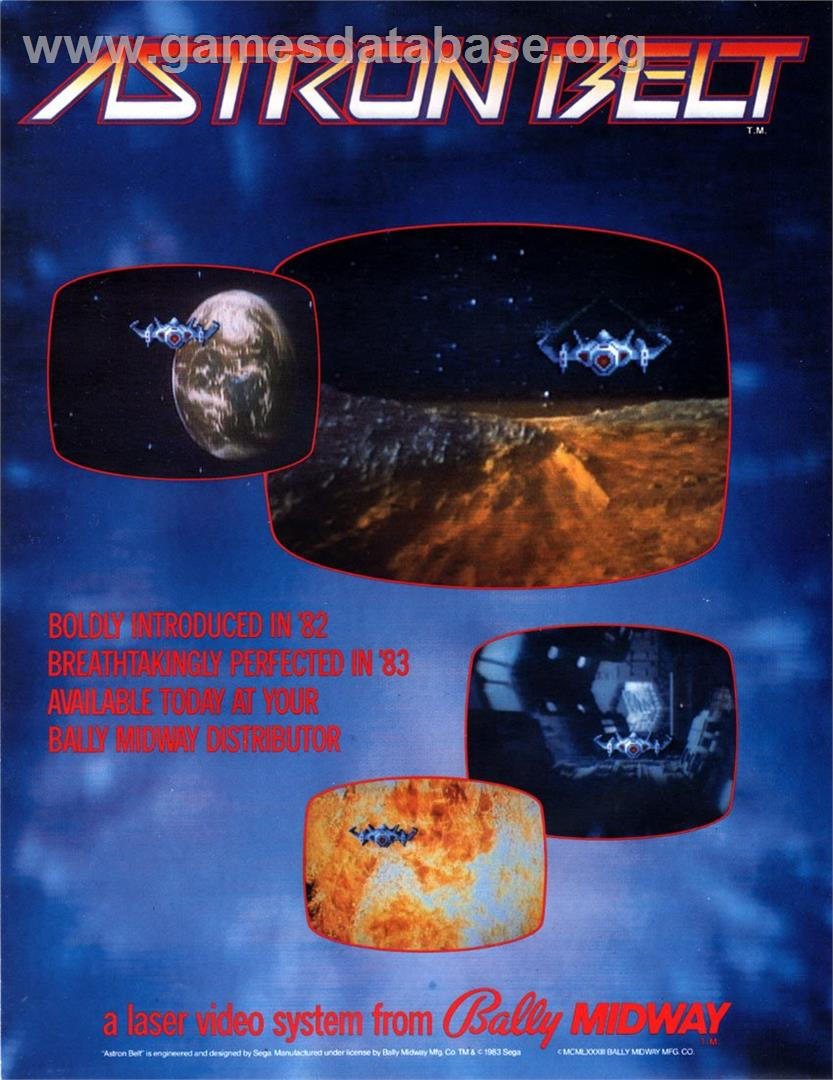 Astron Belt - Laserdisc - Artwork - Advert