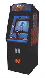Arcade Cabinet for Bega's Battle.