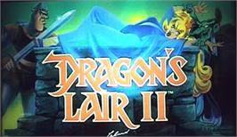 Arcade Cabinet Marquee for Dragon's Lair 2.